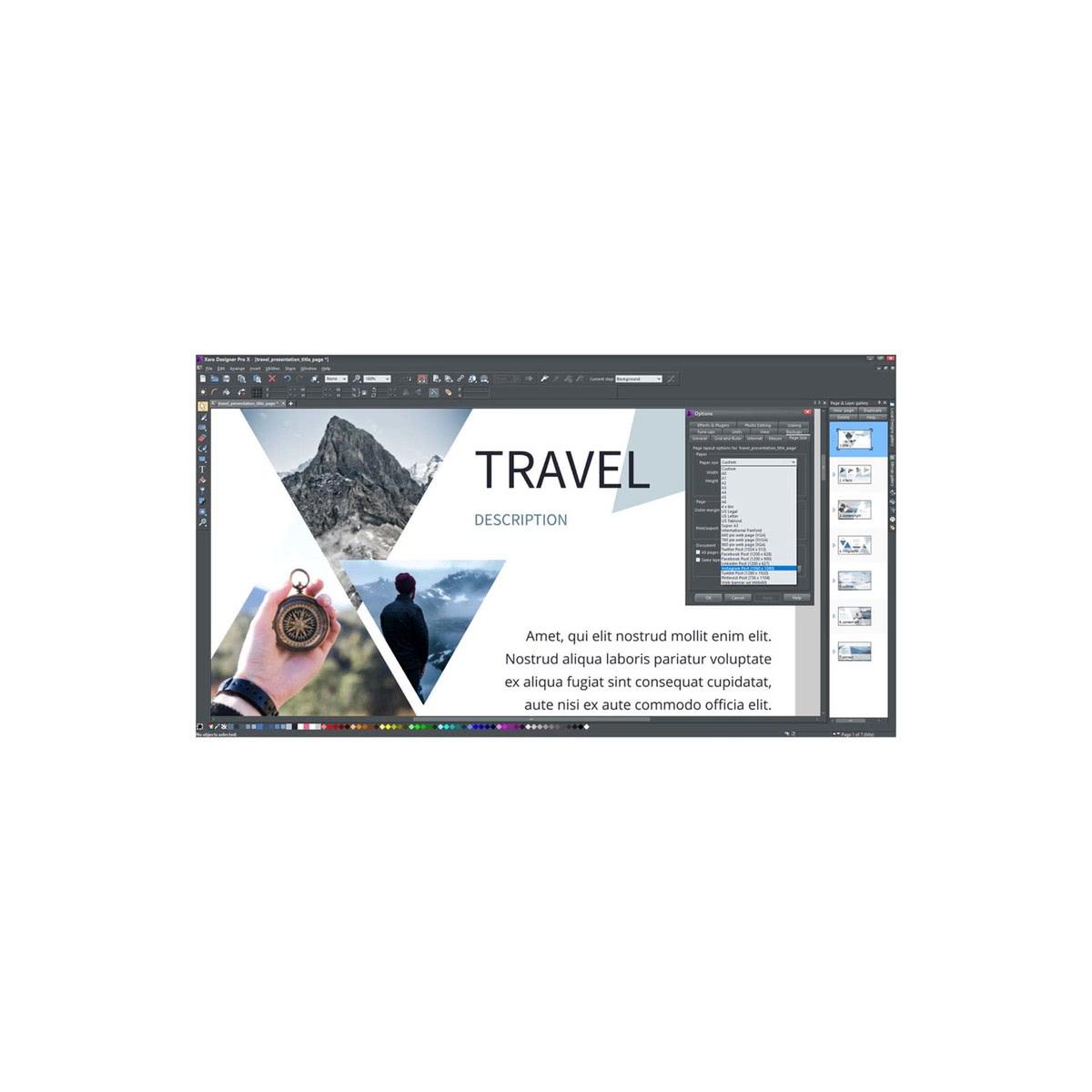 Xara Designer Pro X (Version 2018) günstig online kaufen - Sofort ...