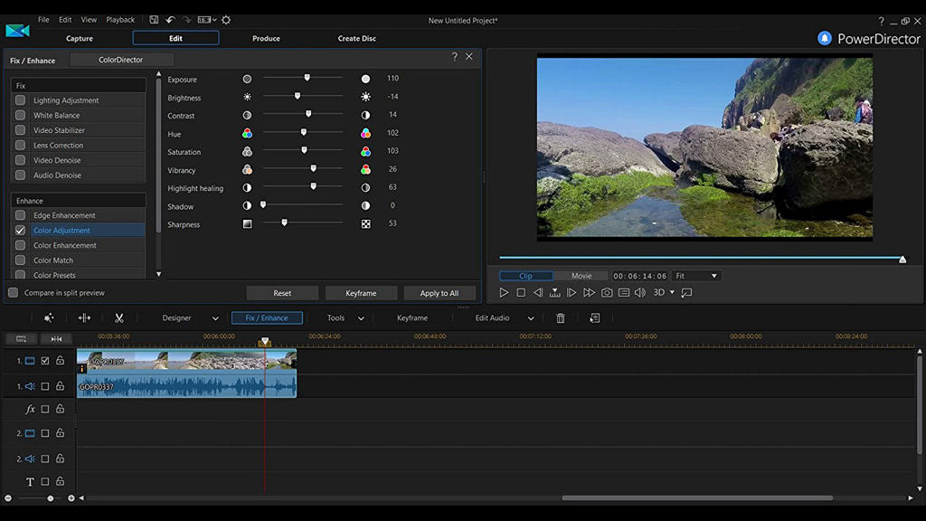 CyberLink Director Suite 6 Crack: is a total solution for media creation. It includes four award-winning applications – PowerDirector 16, ColorDirector 6, AudioDirector 8 and PhotoDirector 9, offering the most complete, video and photo editing solution for advanced enthusiasts.