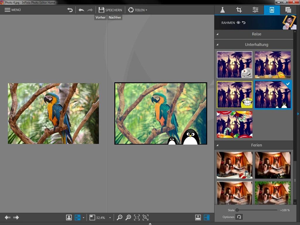 InPixio Photo Editor Home günstig online kaufen - Sofort-Download