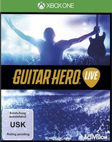 Verpackung von Guitar Hero Live (Spiel + Gitarre) [Xbox One]