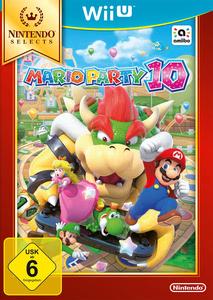 Verpackung von Mario Party 10 Selects [Wii U]