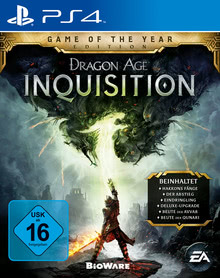 Verpackung von Dragon Age 3: Inquisition - Game of the Year Edition [PS4]
