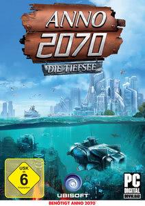 Verpackung von ANNO 2070 Die Tiefsee [PC]