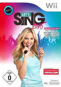 Verpackung von Let's Sing 2016 [Wii]