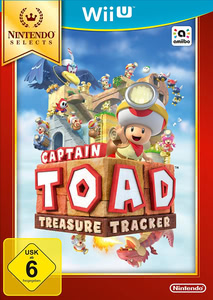 Verpackung von Captain Toad: Treasure Tracker Selects [Wii U]
