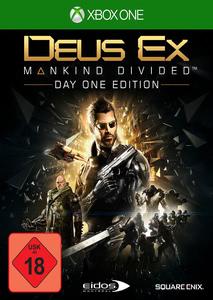Verpackung von Deus EX: Mankind Divided Day One Edition [Xbox One]