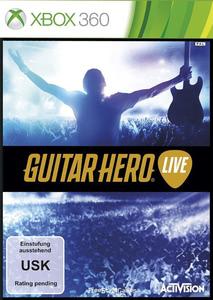 Verpackung von Guitar Hero Live (Spiel + Gitarre) [Xbox 360]
