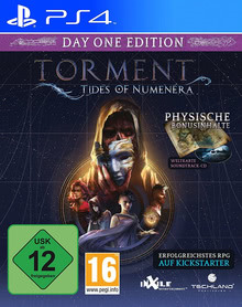 Verpackung von Torment: Tides of Numenera Day One Edition [PS4]