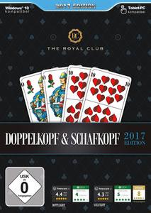 Verpackung von The Royal Club Doppelkopf & Schafkopf 2017 [PC]