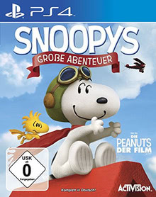 Verpackung von Snoopys Große Abenteuer [PS4]