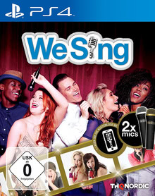 Verpackung von We Sing (inkl. 2 Mikrofone) [PS4]