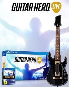 Verpackung von Guitar Hero Live (Spiel + Gitarre) [PS4]