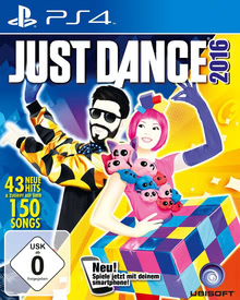Verpackung von Just Dance 2016 [PS4]