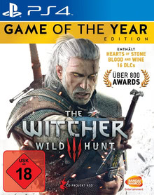 Verpackung von The Witcher 3: Wild Hunt - Game of the Year Edition [PS4]