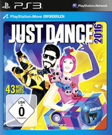 Verpackung von Just Dance 2016 [PS3]