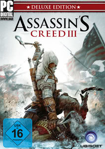 Verpackung von Assassin's Creed 3 Digital Deluxe Edition [PC]