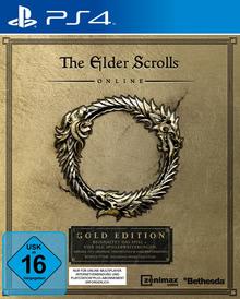 Verpackung von The Elder Scrolls Online: Gold Edition [PS4]