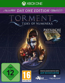 Verpackung von Torment: Tides of Numenera Day One Edition [Xbox One]