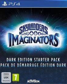 Verpackung von Skylanders Imaginators Starter Pack Dark Creation Edition [PS4]