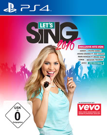 Verpackung von Let's Sing 2016 [PS4]