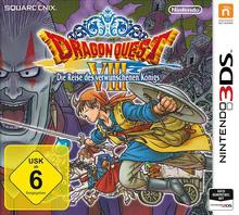 Verpackung von DRAGON QUEST VIII: Die Reise des verwunschenen Königs [3DS]