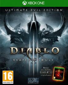 Verpackung von Diablo 3: Ultimate Evil Edition [Xbox One]