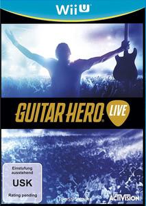 Verpackung von Guitar Hero Live (Spiel + Gitarre) [Wii U]