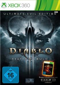 Verpackung von Diablo 3: Ultimate Evil Edition [Xbox 360]