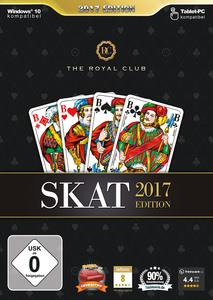 Verpackung von The Royal Club Skat 2017 [PC]