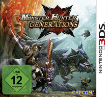 Verpackung von Monster Hunter Generations [3DS]