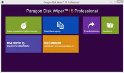 Bild von Paragon Disk Wiper 15 Professional [PC-Software]