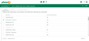 Bild von phase-6 Vokabelpaket zu Green Line 1 (neue Ausgabe) [MULTIPLATFORM]