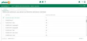 Bild von phase-6 Vokabelpaket zu Green Line NEW Bayern - Band 1 [MULTIPLATFORM]