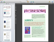 Image of ABBYY FineReader Pro for Mac [Mac-software]