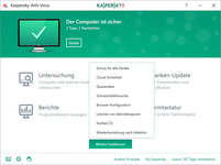 Bild von Kaspersky Anti-Virus (Code in a Box) (FFP) - 1 Gerät 12 Monate [PC-Software]