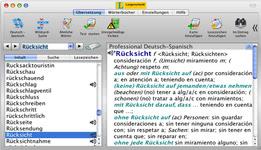 Bild von Langenscheidt Professional-Wörterbuch Spanisch [Mac-Software]