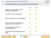 Bild von Einfach besser in Deutsch Grammatik 7. Klasse [PC-Software]