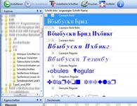 Bild von Schriften-Bibliothek [Mac-Software]