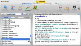 Bild von Langenscheidt Professional-Wörterbuch Französisch [Mac-Software]