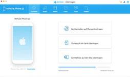 Bild von Wondershare Dr. Fone Mac Übertragen (Transfer) iOS 5 Geräte 1 Jahr Laufzeit [Mac-Software]