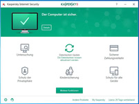 Bild von Kaspersky Internet Security 2017 Upgrade - 3 Lizenzen 12 Monate [MULTIPLATFORM]