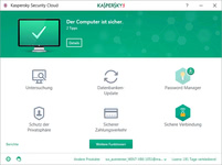 Bild von Kaspersky Security Cloud (2018) Family Edition - 20 Geräte / 12 Monate [MULTIPLATFORM]