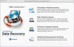 Bild von Wondershare Data Recovery [Mac-Software]
