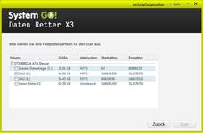 Bild von System GO! Daten Retter X3 3 User [PC-Software]