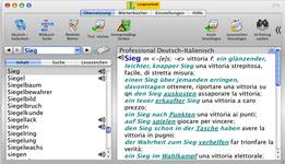 Bild von Langenscheidt Professional-Wörterbuch Italienisch [Mac-Software]