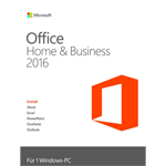Bild von Microsoft Office Home and Business 2016 [PC-Software]