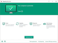 Image of Kaspersky Anti-Virus 2017 - Upgrade from 2016: 1 User / 12 Months to 2017: 1 User / 12 Months (EU license) [PC-software]