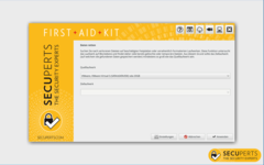 Bild von SecuPerts First Aid Kit [PC-Software]