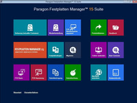 Bild von Paragon Festplatten Manager 15 Suite - Windows 10 Edition [PC-Software]
