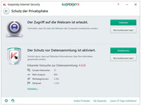 Bild von Kaspersky Internet Security 2017 - 2 Geräte 12 Monate Limited Edition [MULTIPLATFORM]
